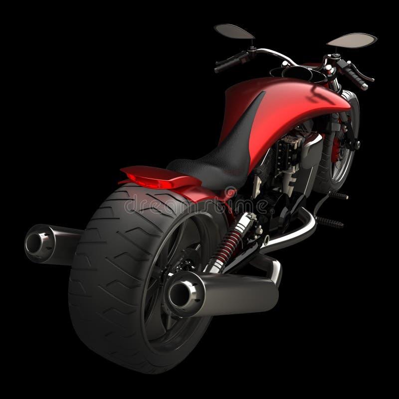概念查出摩托车 向量例证