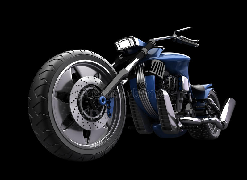 概念查出的摩托车 皇族释放例证