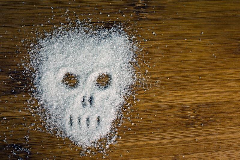 概念没有糖饮食 免版税库存图片