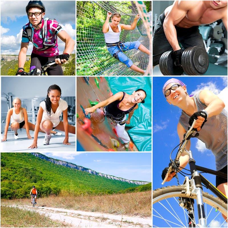 概念生活方式体育运动 库存图片