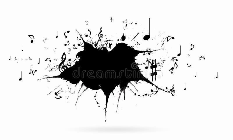 概念电吉他例证音乐 皇族释放例证