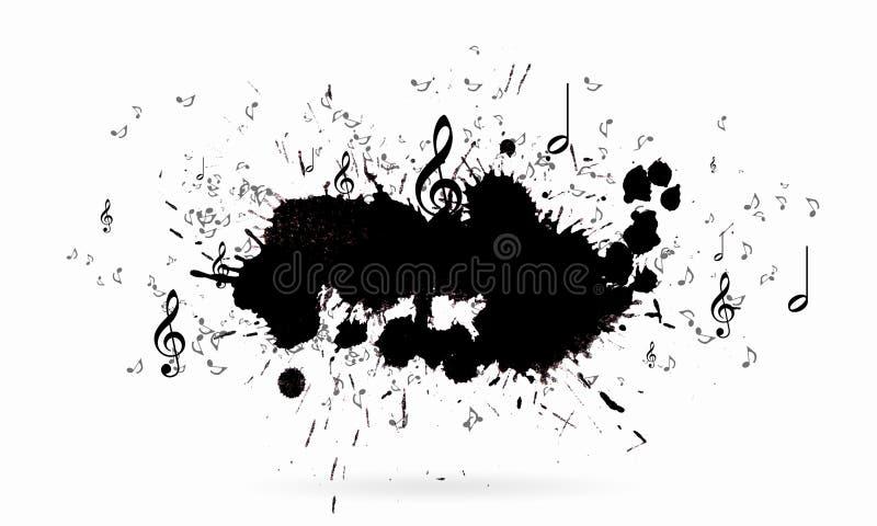 概念电吉他例证音乐 库存例证