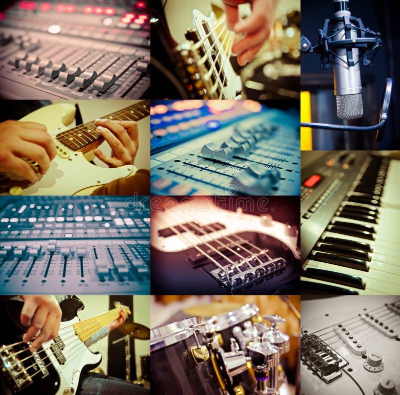 概念电吉他例证音乐 免版税库存图片