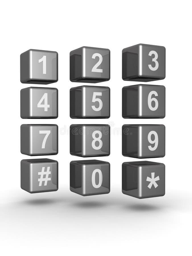 概念联络电信 向量例证