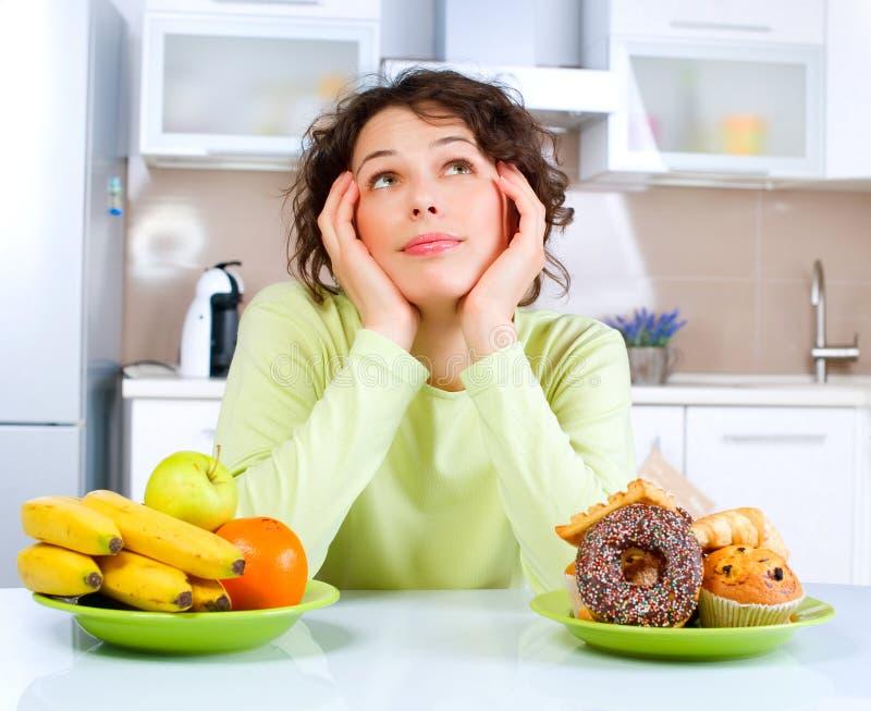 概念节食 免版税库存照片