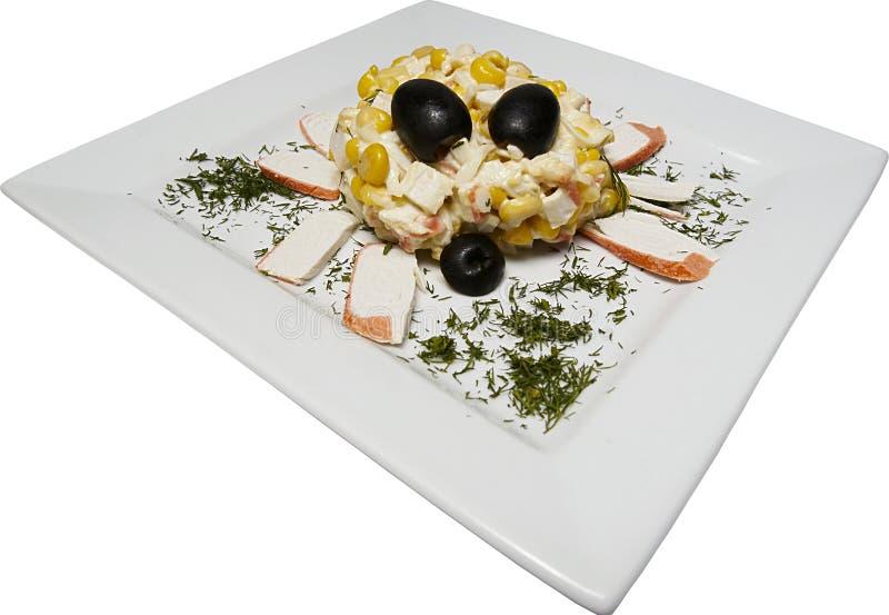 概念螃蟹食物 免版税库存照片