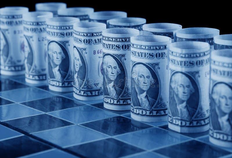 概念货币方法 图库摄影