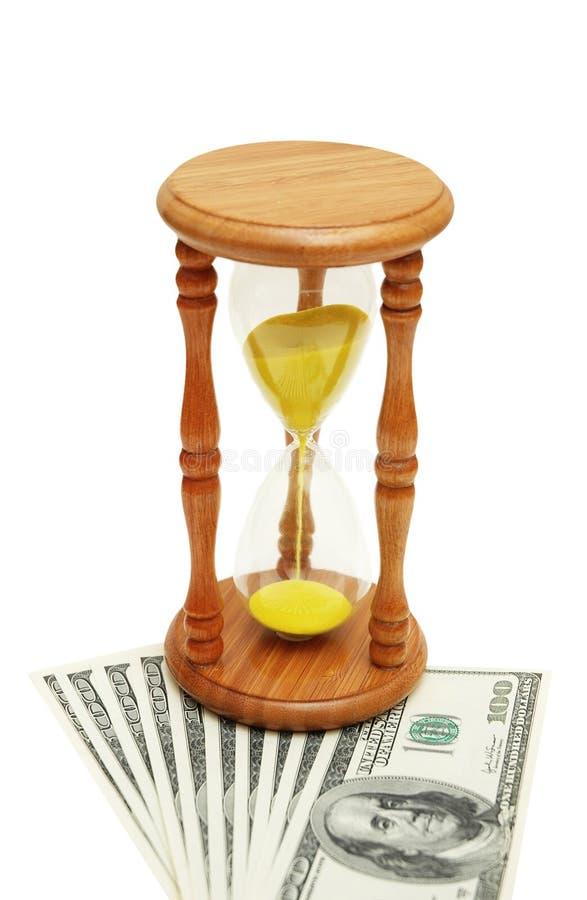 概念货币时间 免版税库存图片