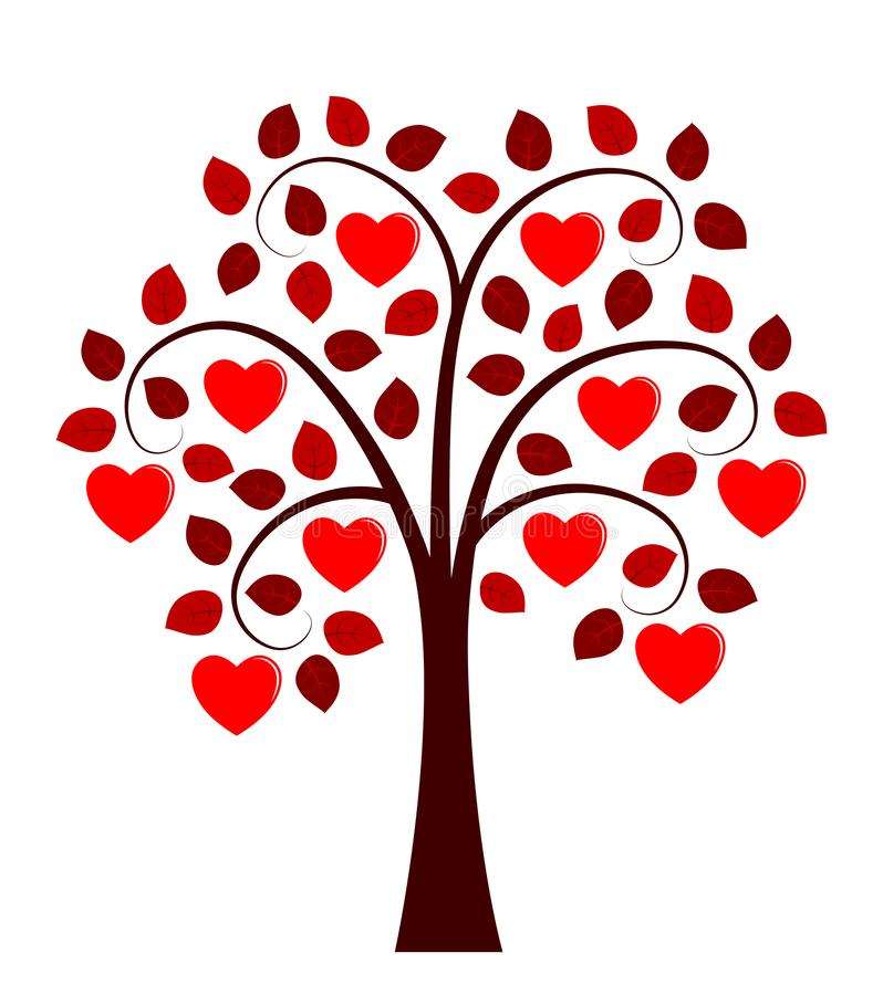 概念重点查出的爱护树木白色 库存例证