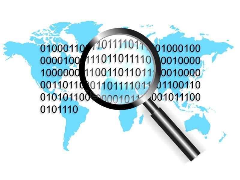 概念重点证券世界 向量例证