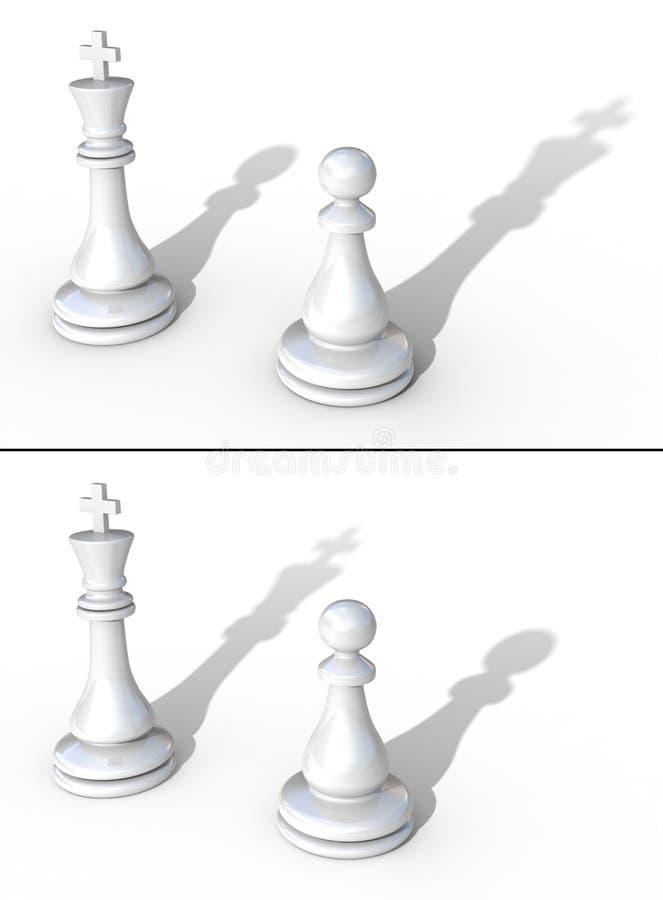 概念领导 向量例证
