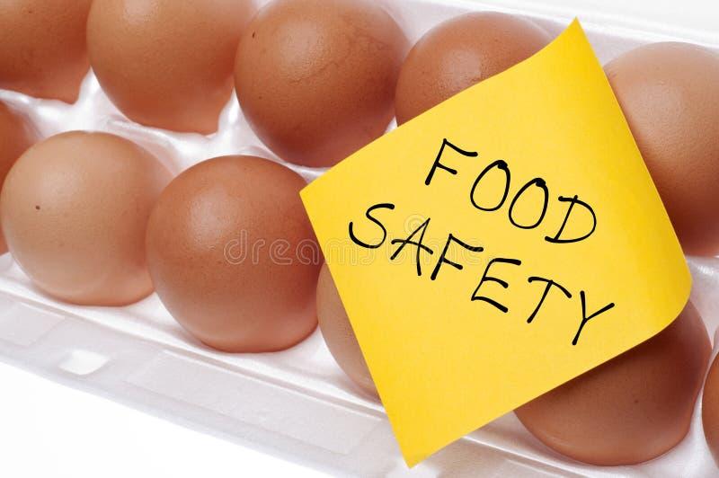 概念食品安全性 库存照片
