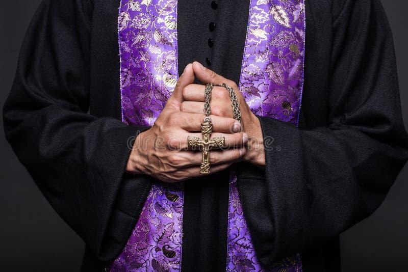 概念:祷告 库存照片