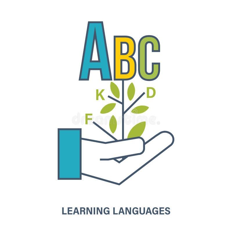 概念-国际外语的研究 皇族释放例证