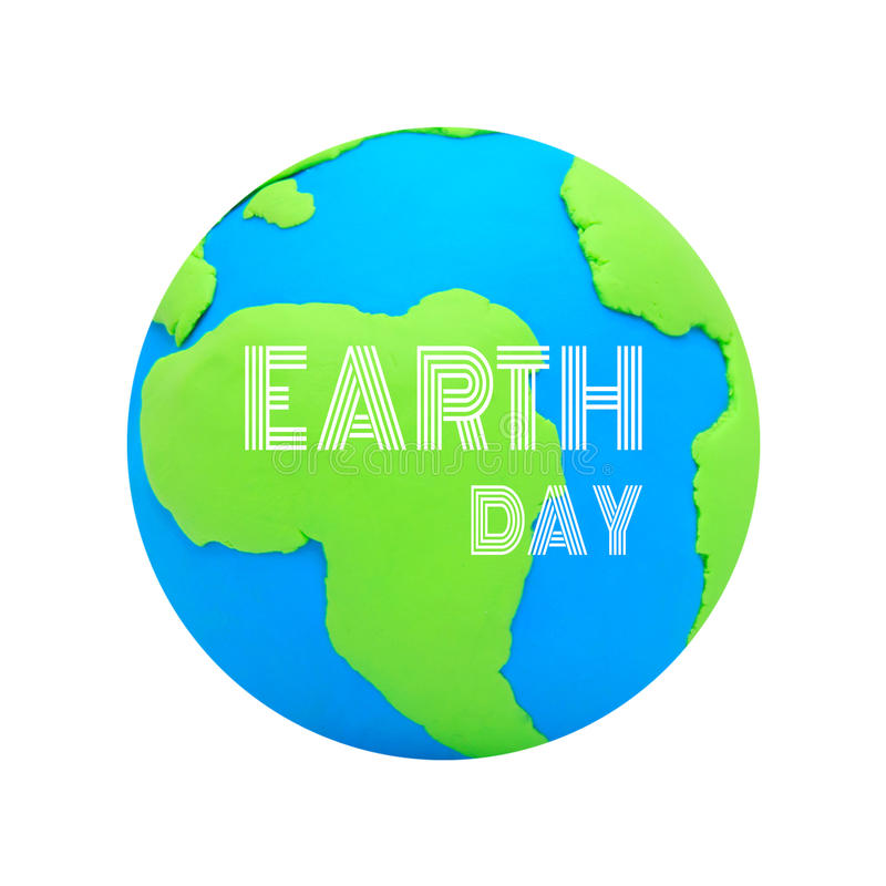 概念绿色行星保存 免版税库存图片