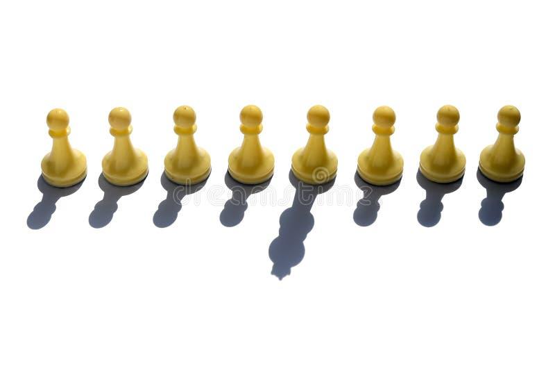 概念-领导,黑马,说笑话者,竞选种族,竞争,一张百搭卡 免版税库存照片