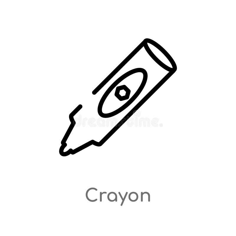 概述蜡笔传染媒介象 E r 皇族释放例证