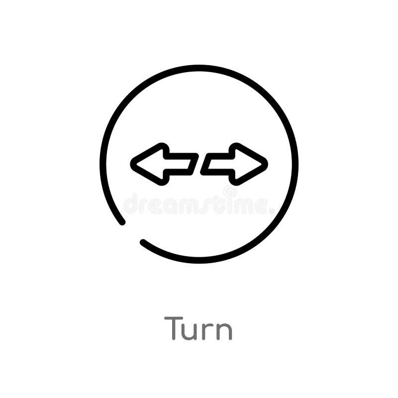 概述轮传染媒介象 E 编辑可能的传染媒介冲程轮 库存例证