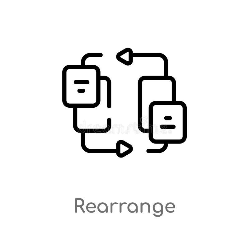 概述重新整理传染媒介象 E r 库存例证