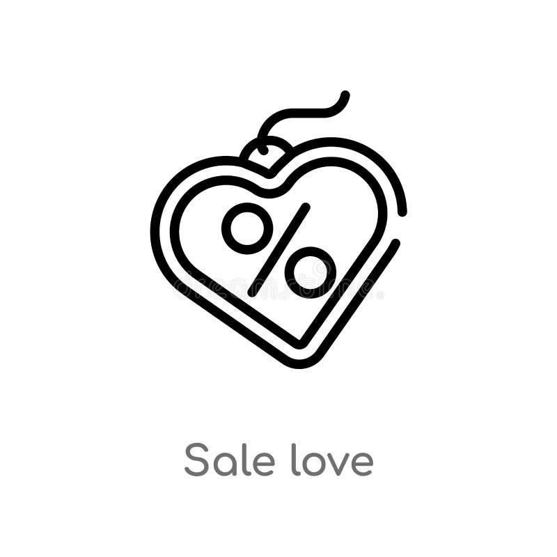 概述销售爱传染媒介象 E 编辑可能的传染媒介冲程销售 库存例证