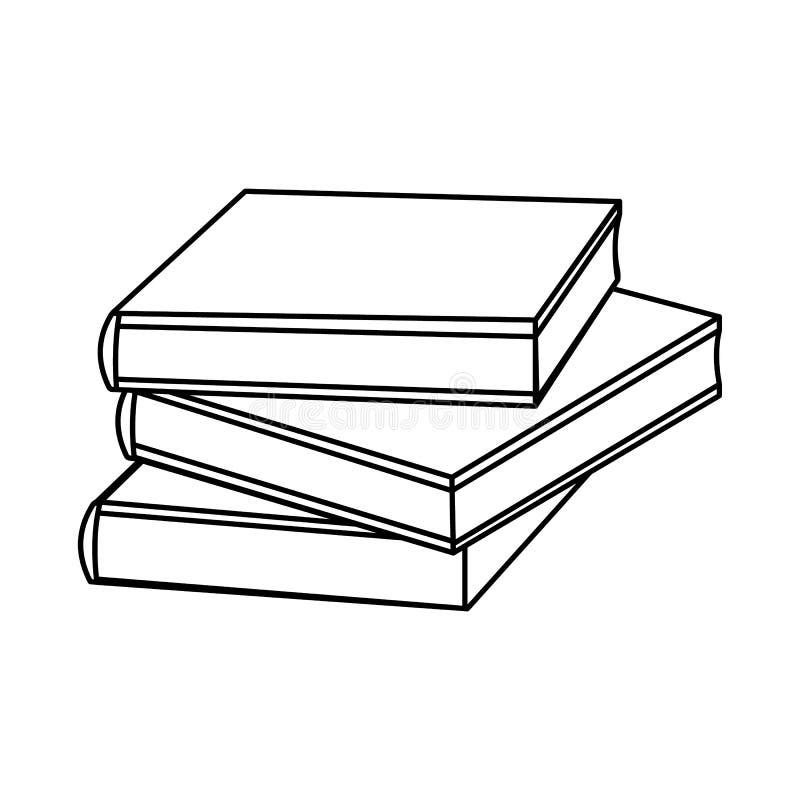 概述预定象 学校用品 被隔绝的传染媒介 库存例证