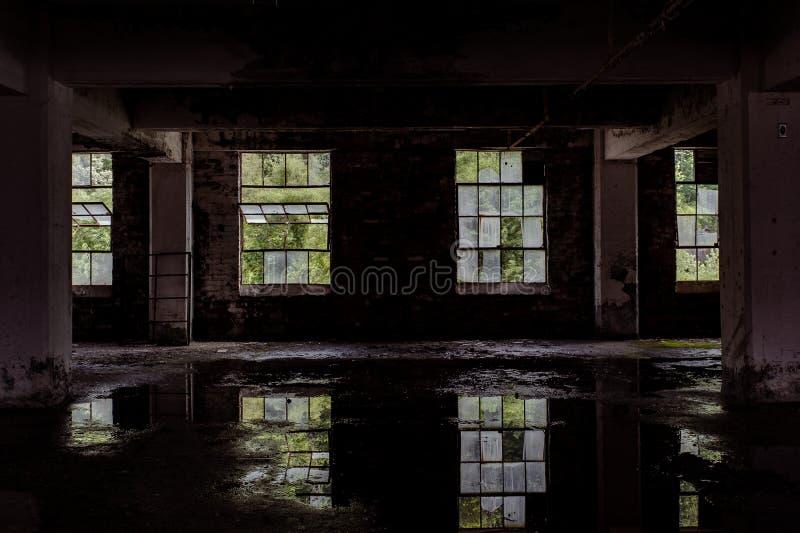 榛树地图集Glass Company -转动,西维吉尼亚 免版税库存图片