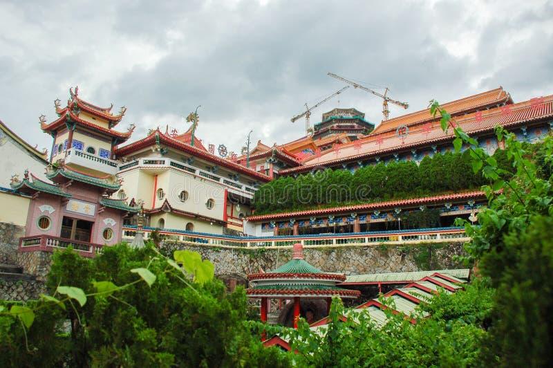 槟城极乐寺寺庙在槟榔岛海岛 免版税库存照片
