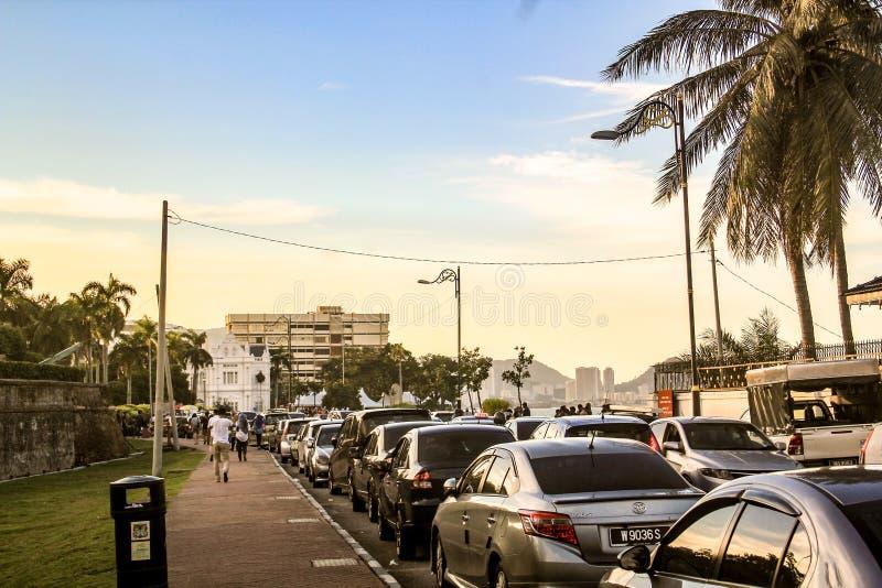 槟榔岛江边 免版税库存图片