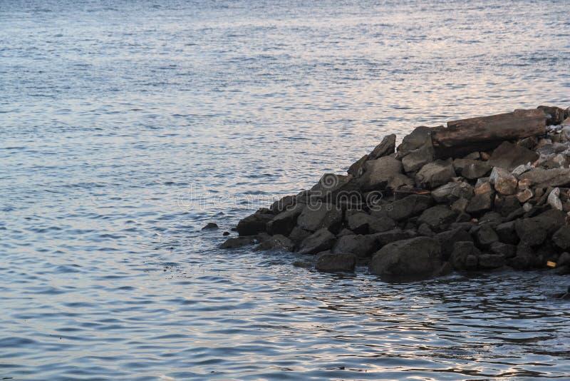 槟榔岛江边 图库摄影