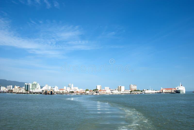 槟榔岛海岛,马来西亚 免版税图库摄影