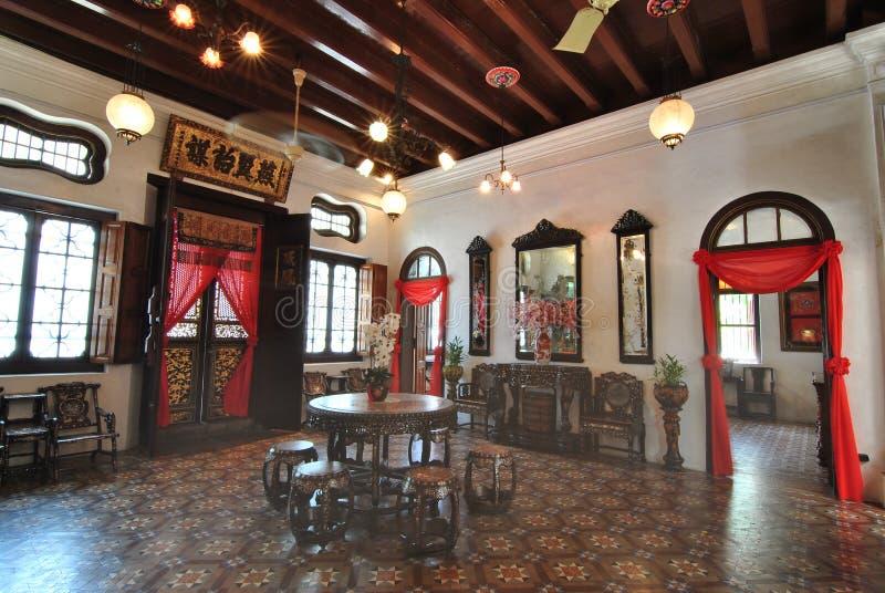 槟榔岛Cheong法特Tze豪宅 图库摄影