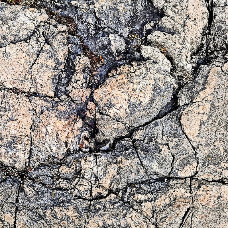 槽形岩质块石 库存图片