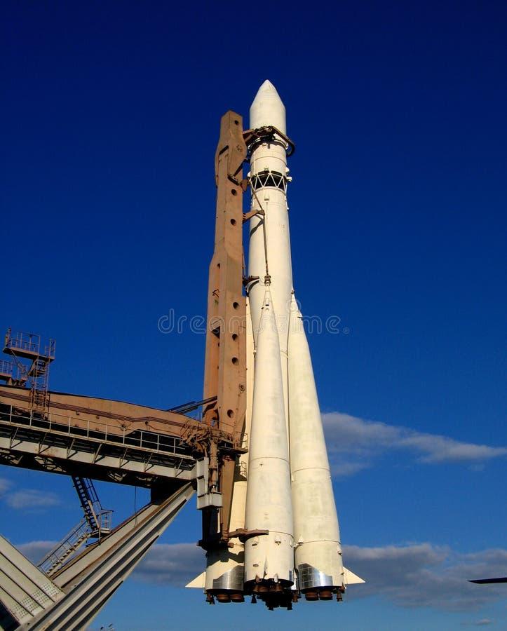 模型火箭 库存图片