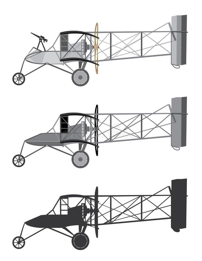 Download 模型飞机减速火箭的双翼飞机 向量例证. 插画 包括有 驾驶舱, 通风, 通信工具, 查出, 例证, 图象 - 62532129