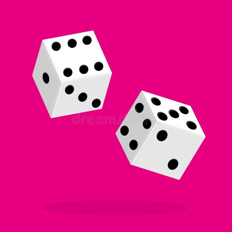 模子平的象 两比赛切成小方块 向量 皇族释放例证