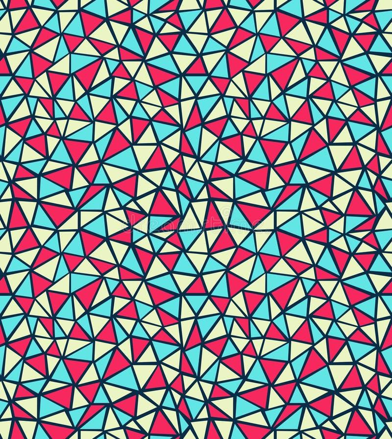 模式三角 库存例证