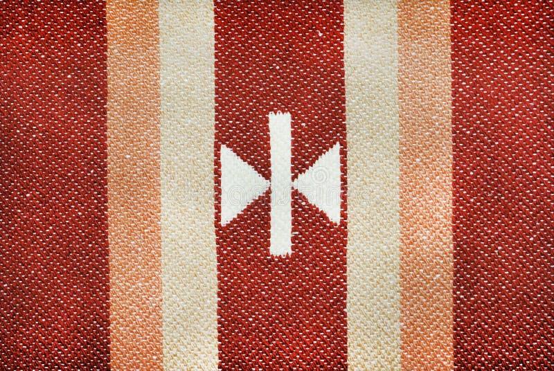 模式地毯 图库摄影
