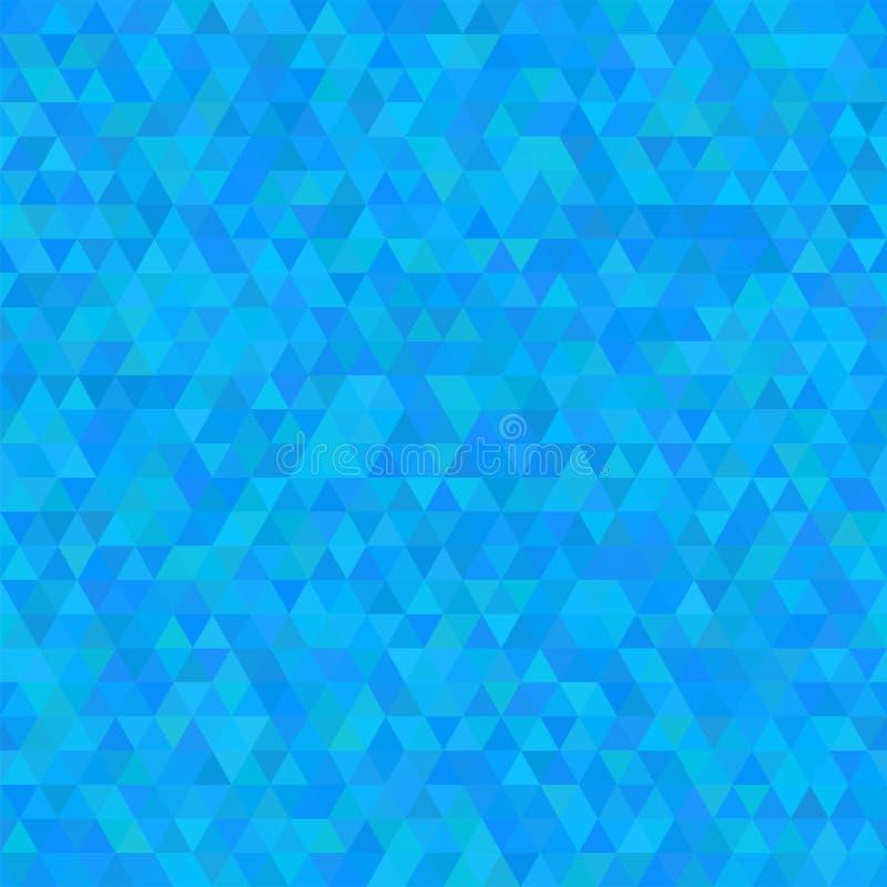 模式无缝的三角 与几何抽象纹理的背景 皇族释放例证