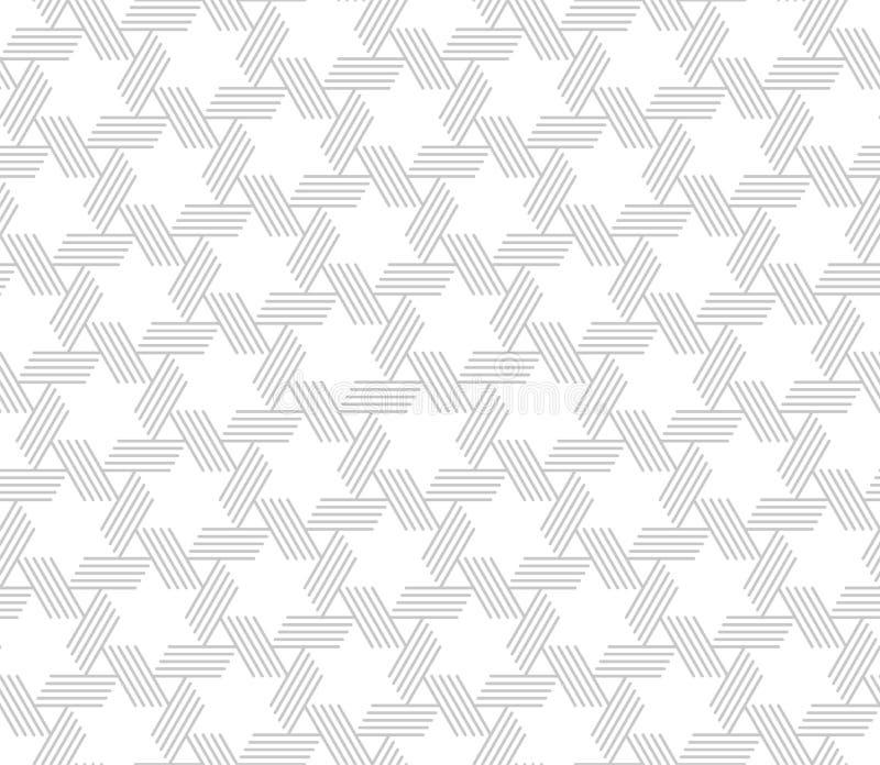 模式无缝的向量 现代时髦的纹理 皇族释放例证