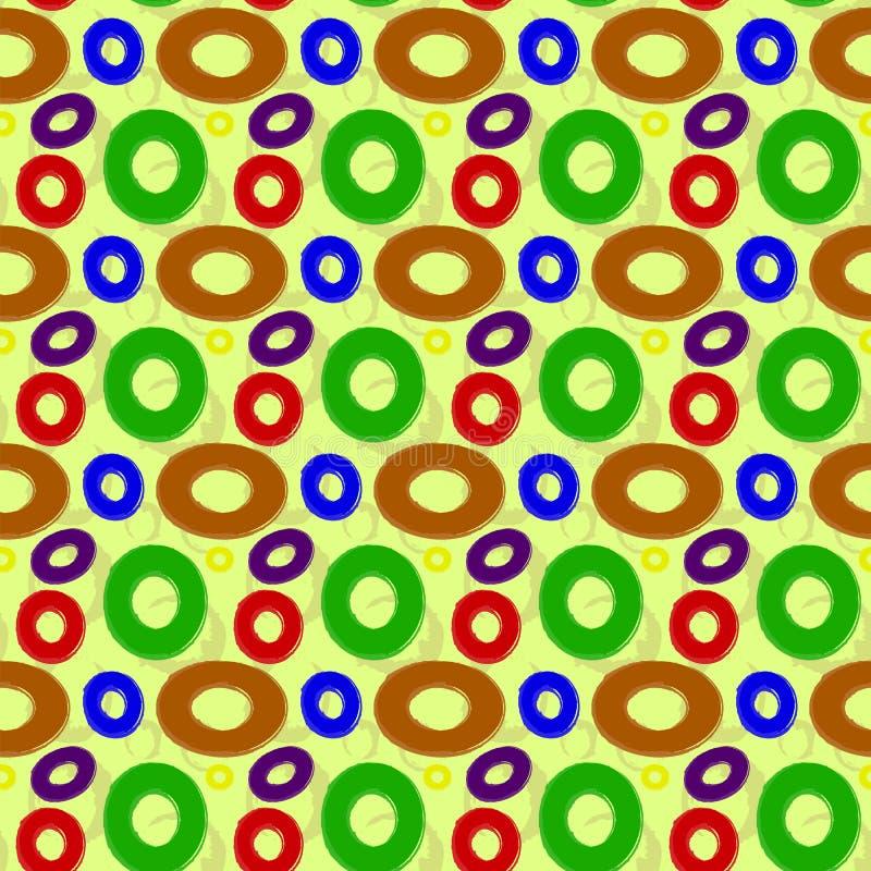 模式无缝的向量 向量例证