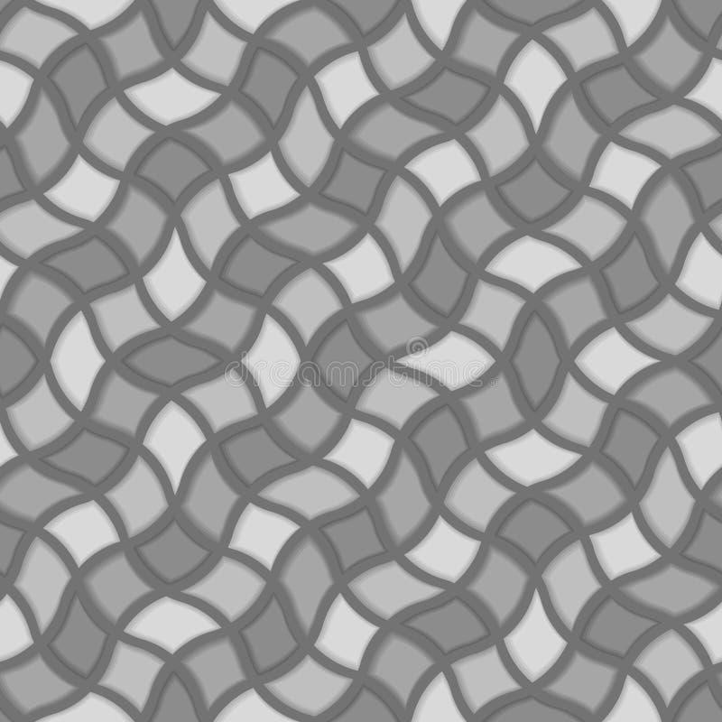 模式无缝的瓦片 库存例证