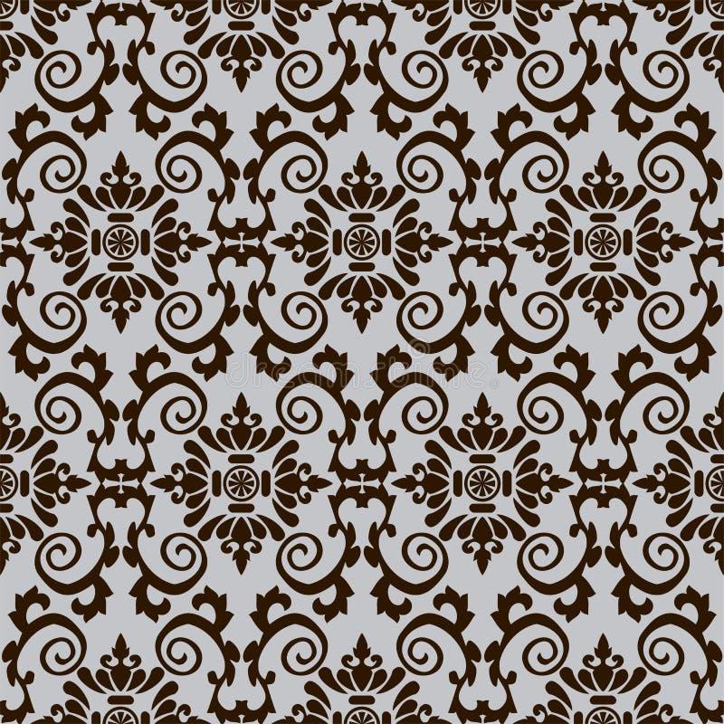 模式无缝的纺织品 向量例证