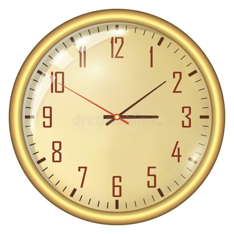 模式时钟 皇族释放例证