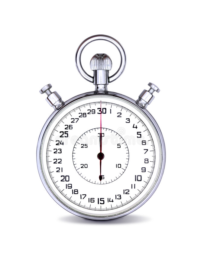 模式秒表 库存图片