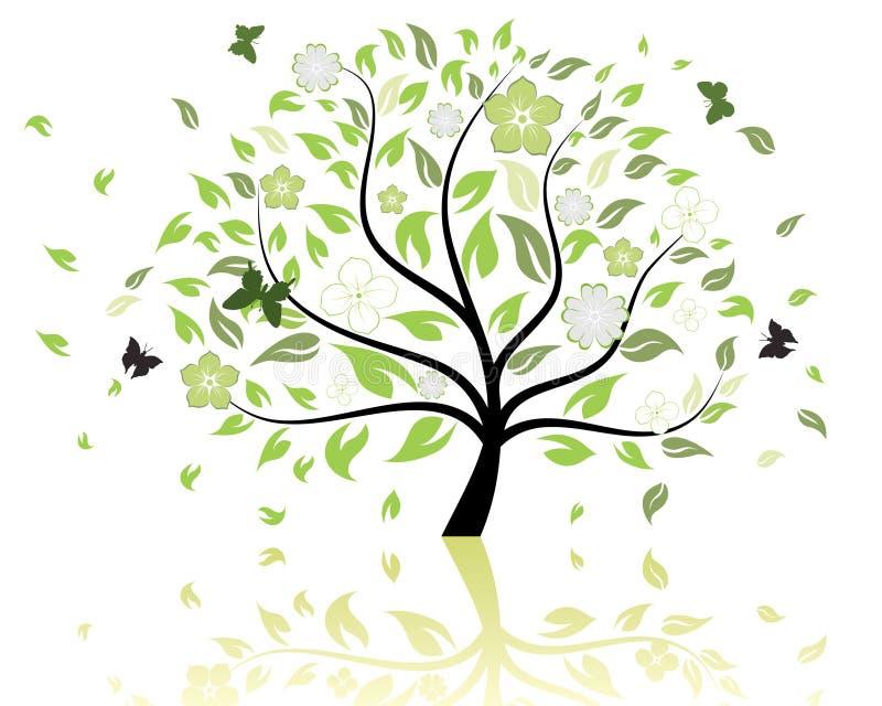 模式结构树 向量例证