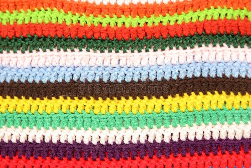 模式羊毛 免版税库存照片