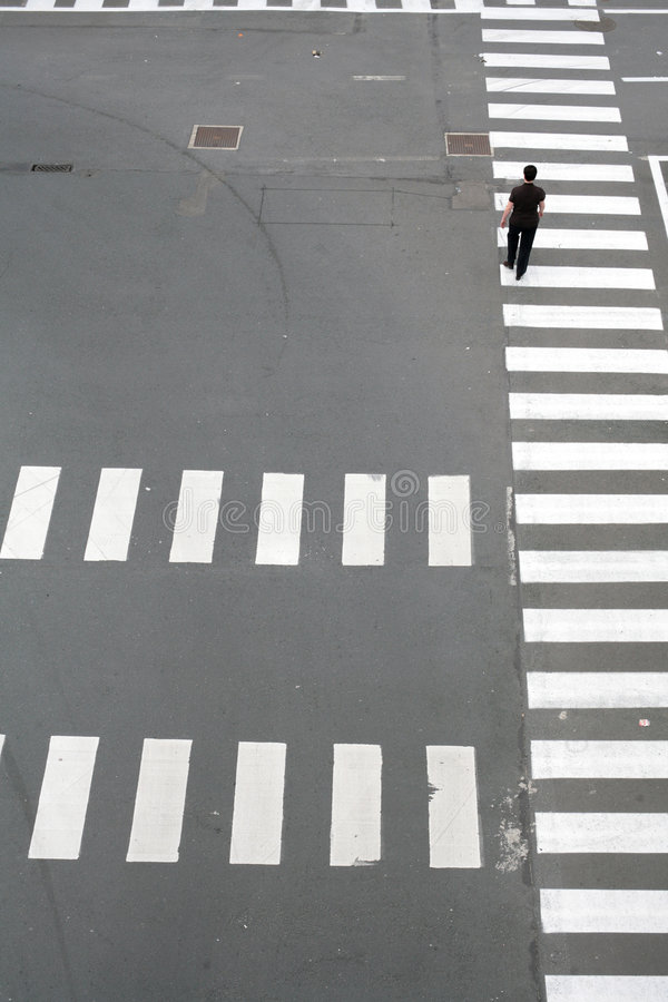 模式街道 库存图片