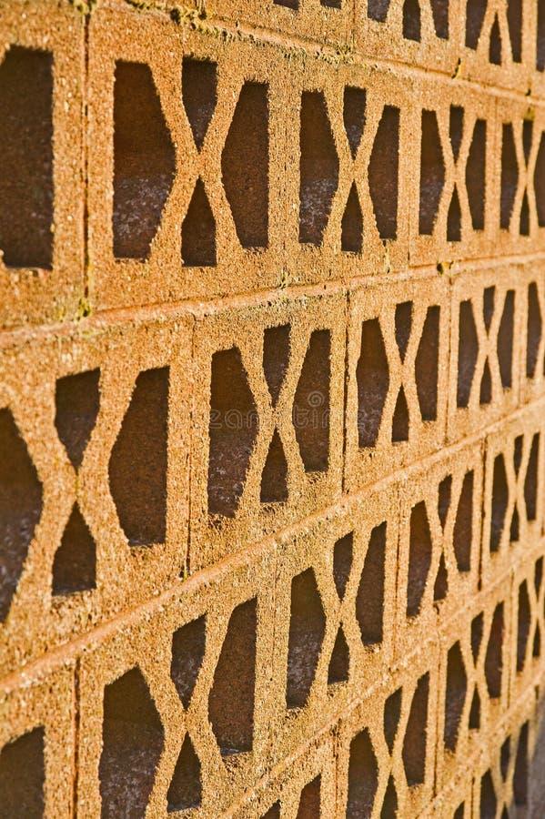 模式透气墙壁 图库摄影