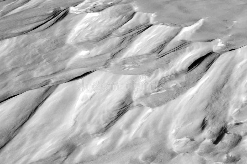 模式雪 库存图片