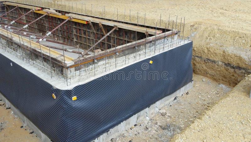 模板钢工业建筑 免版税库存图片
